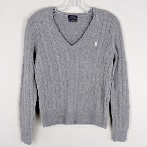 Polo by Ralph Lauren | Gray Wool Sweater